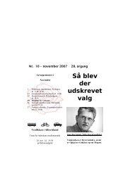 S Posten nov 2007 - Socialdemokraterne Albertslund