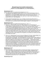 Bemærkninger til de enkelte bestemmelser i udkast til ny ... - Net