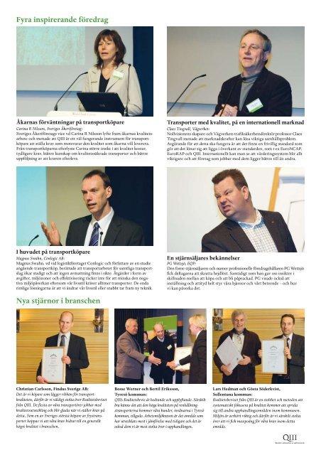 – transporter idag och imorgon - Q3 – Forum för hållbara transporter