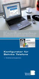 Konfigurator - Telecom Behnke