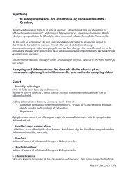 Vejledning – til ansøgningsskema om uddannelse og ... - Sunngu