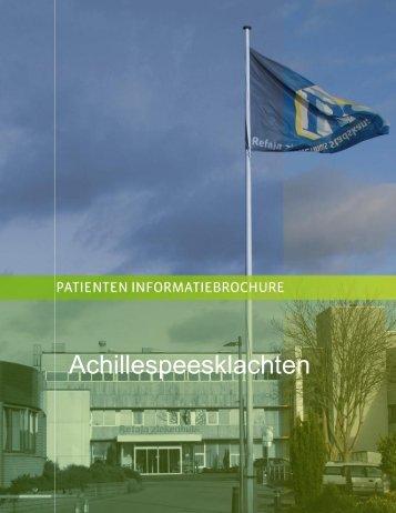 Achillespees Klachten - Logo Orthopedie Stadskanaal