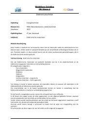 Middelbare Opleiding BBL Niveau 4 Elektronicatechniek