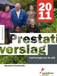 download de PDF van het verslag. - Woonbron