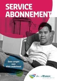 Brochure serviceabonnement - DeltaWonen