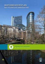 Waterbeheersplan, niet-technische samenvatting - Leefmilieu Brussel