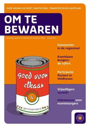 Magazine Om te bewaren - Movisie