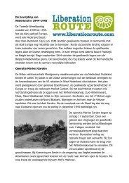 De bevrijding van Nederland in 1944-1945 - Liberation Route