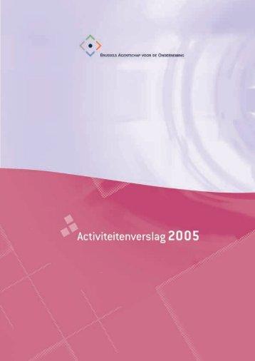 Activiteitenverslag 2005
