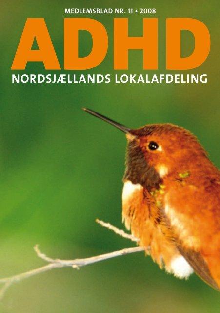 NORDSJæLLANDS LOKALAFDELING - ADHD: Foreningen