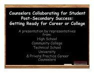 Program 5 - Texas Counseling Association
