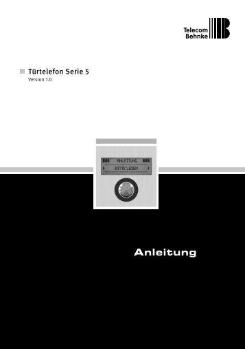 Türtelefon Serie 5 - Telecom Behnke