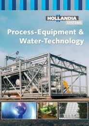 Process-Equipment & Water-Technology - Hollandia Systems B.V.