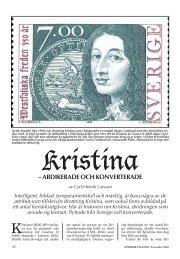Kristina – Abdikerade och konverterade - Nordisk Filateli