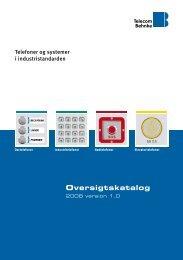 Oversigtskatalog - Telecom Behnke