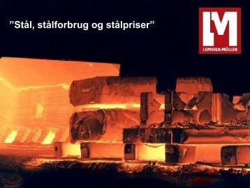 Stålforbrug og -priser, Lemvigh-Müller - Industriens Uddannelser