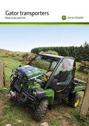 Download Gator Transporters PDF - John Deere