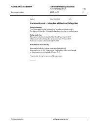 inbjudan att teckna förlagslån - Hammarö kommun