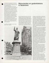 Monumenten en gedenktekens in Nederland