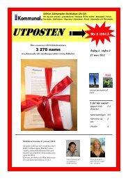 Utposten Nr 2 /2012 - Kommunal