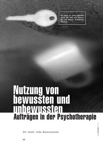 Nutzung von bewussten und unbewussten - Deutscher Psychologen ...