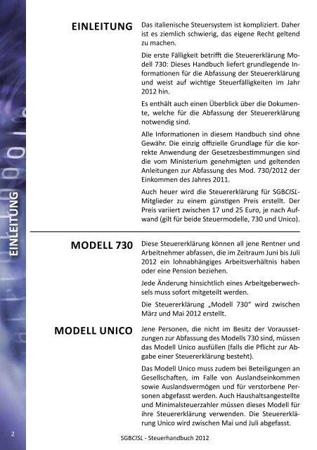 2012 - SGB - CISL