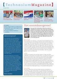 T-Magazine zomer 2013 - Technasium