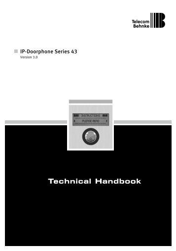 Technical Handbook - Telecom Behnke