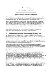 168e Boek van het Rekenhof - persbericht