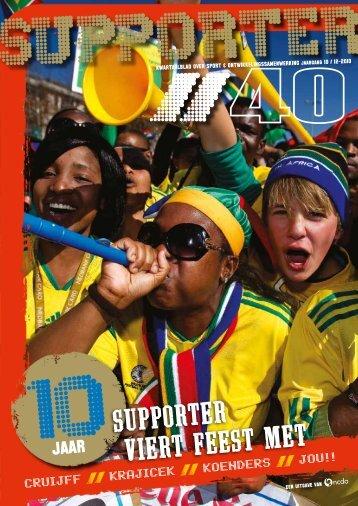 Supporter 40 - Sport en Ontwikkelingslanden