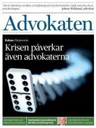 Nummer 5 som pdf - Advokatsamfundet