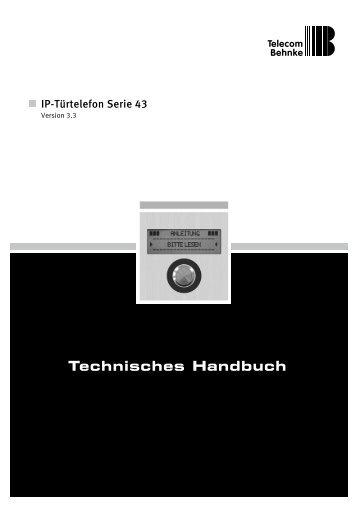 Technisches Handbuch V 3.3 - Telecom Behnke