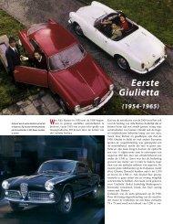 Eerste Giulietta - Alfa Romeo Download