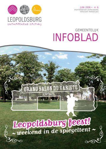 Infoblad 052006.qxp - Leopoldsburg