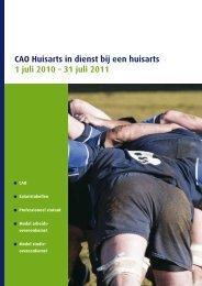 CAO Hidha 2010-2011 - Landelijke Huisartsen Vereniging - Artsennet