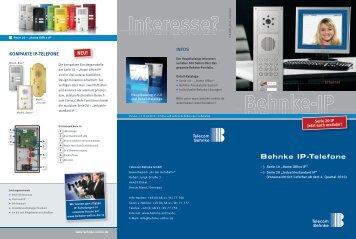 Behnke Ip-Telefone - Telecom Behnke