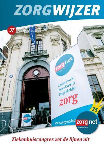 Download Zorgwijzer 37 - Zorgnet Vlaanderen