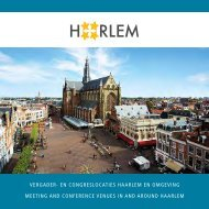 VERGADER- EN CONGRESLOCATIES HAARLEM ... - Studio Naskin