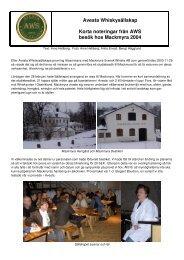 A1 - Avesta Whiskysällskap