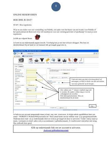Hoe online reserveren - Gemeente Overpelt