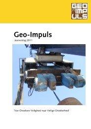 Geo-Impuls - Jaarverslag 2011 - kivi niria