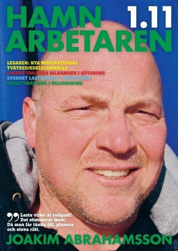 Hamnarbetaren nr 1 2011 - Svenska Hamnarbetarförbundet