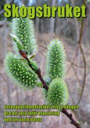 April - Skogsbruket