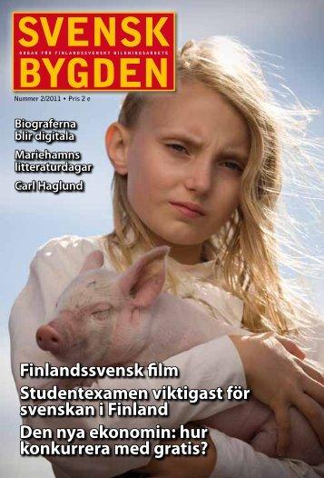 Svenskbygden 2-2011 - Svenska folkskolans vänner