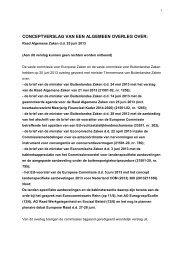 Ongecorrigeerd verslag AO Raad Algemene Zaken ... - Tweede Kamer