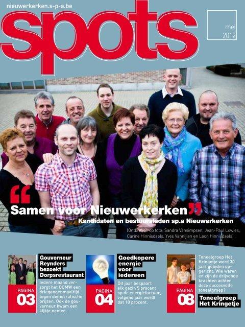 Samen voor Nieuwerkerken - nieuwerkerken - SP.a