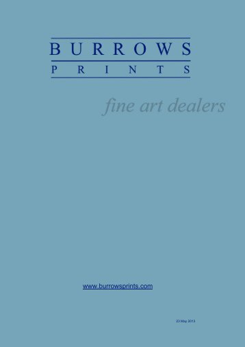 Burrows Prints Current Catalogue