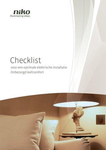 Een checklist voor de aanleg van elektra