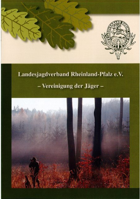 Broschüre - Landesjagdverband Rheinland-Pfalz
