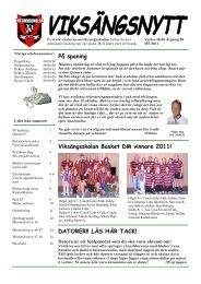 Viksängsskolan Basket DM vinnare 2011! - Västerås stad